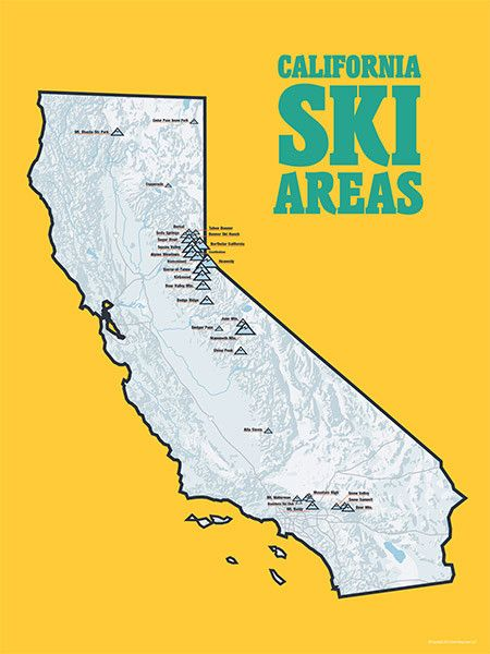 Best California Ski Resorts Ideas On Pinterest Ski Resorts - Western us ski resorts map