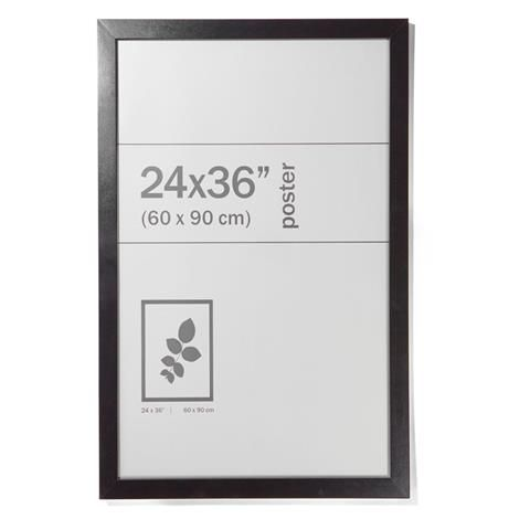 Poster frame in black or white