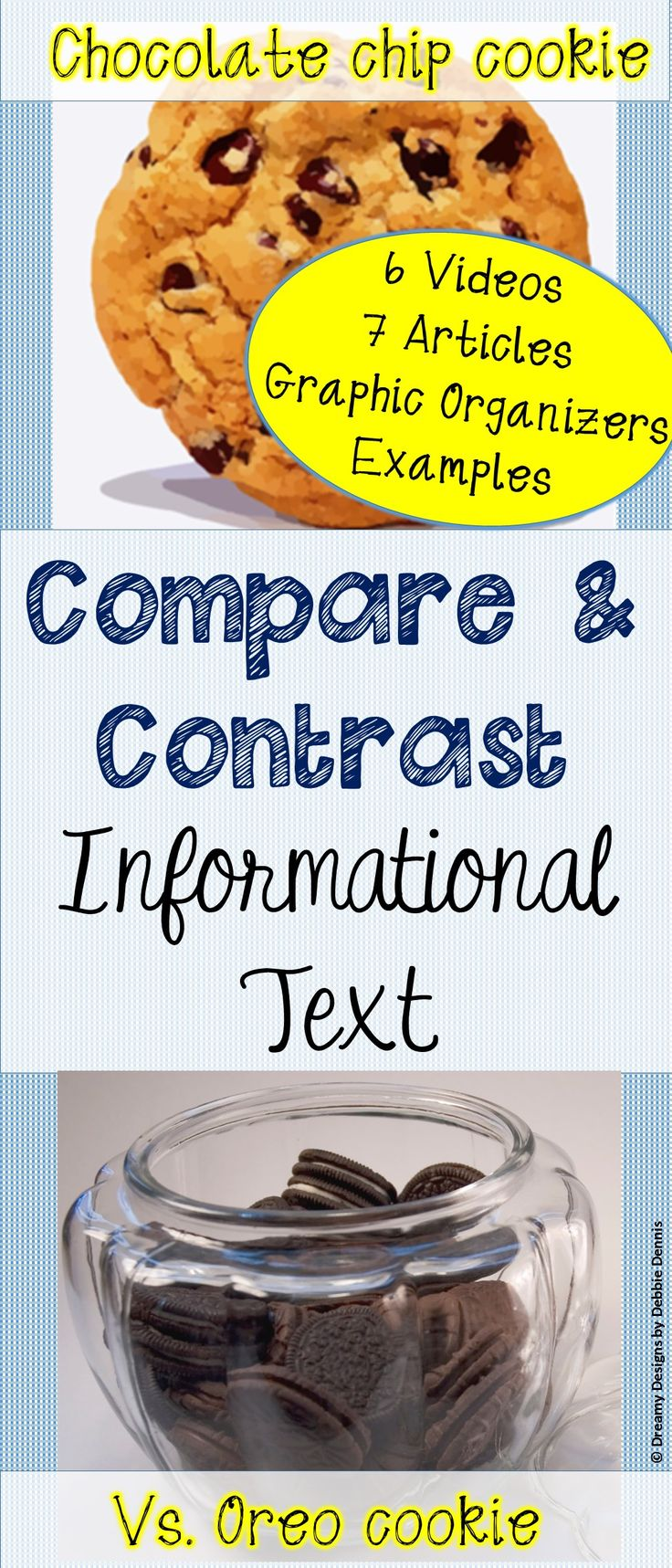 17 best ideas about compare two texts close reading compare contrast cookie text structure research evidence writing test prep 6 7 8