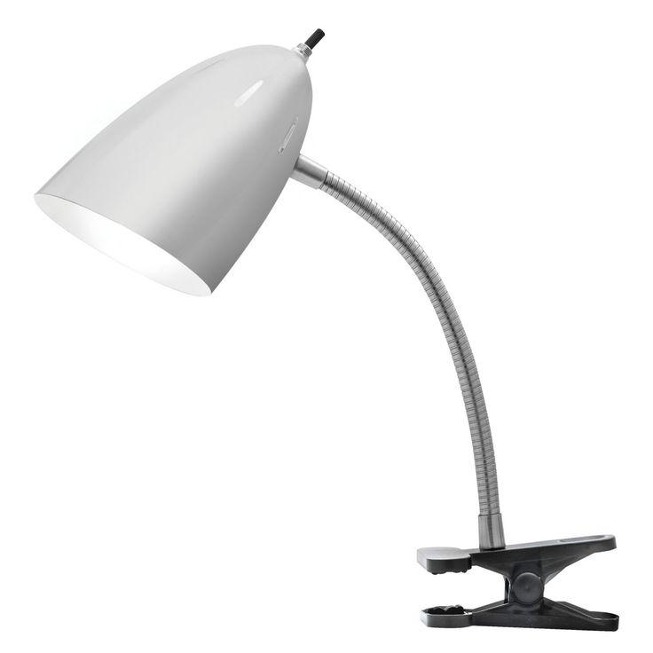 Catalina Lighting 17974-002 Clip-On Desk Lamp - 17974-002