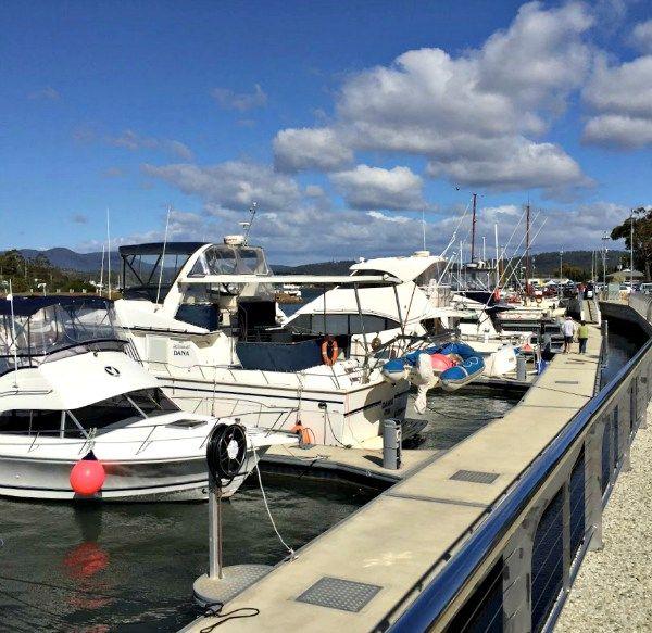 Triabunna Marina ~ article and photo for think-tasmania.com ~ #Tasmania #Fishing #boats #EastCoastTas