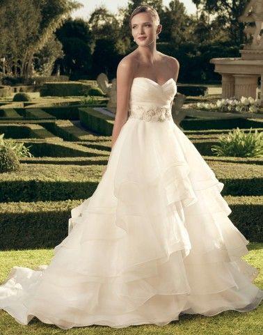 Casablanca Wedding Dresses - Style 2174/2174G/SA025