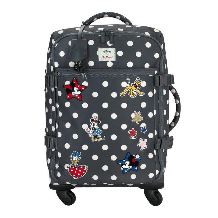 Button Spot  Cabin Wheeled Suitcase