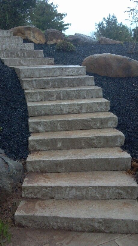 Techo Bloc Rocka steps | Patios and Outdoor Entertaining ...