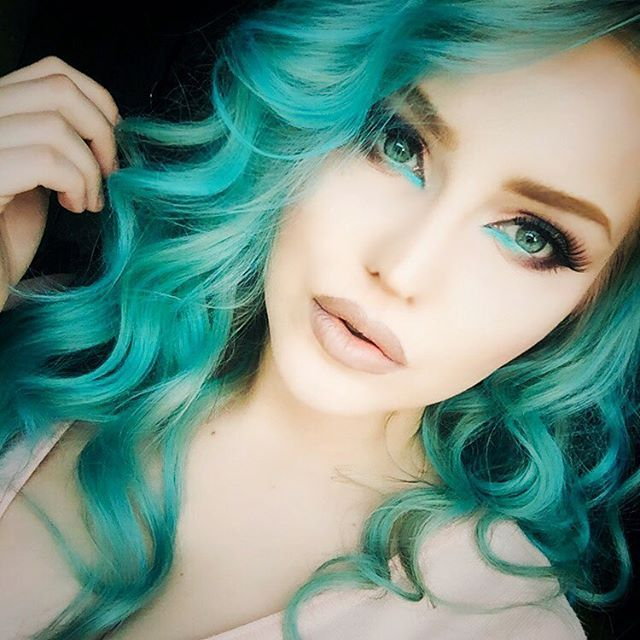 25 best ideas about turquoise hair dye on pinterest