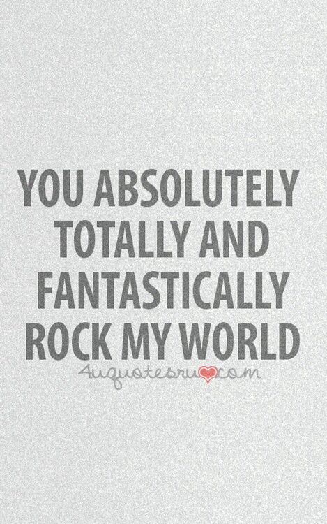 Eric,I love you more than you words will ever express!!!