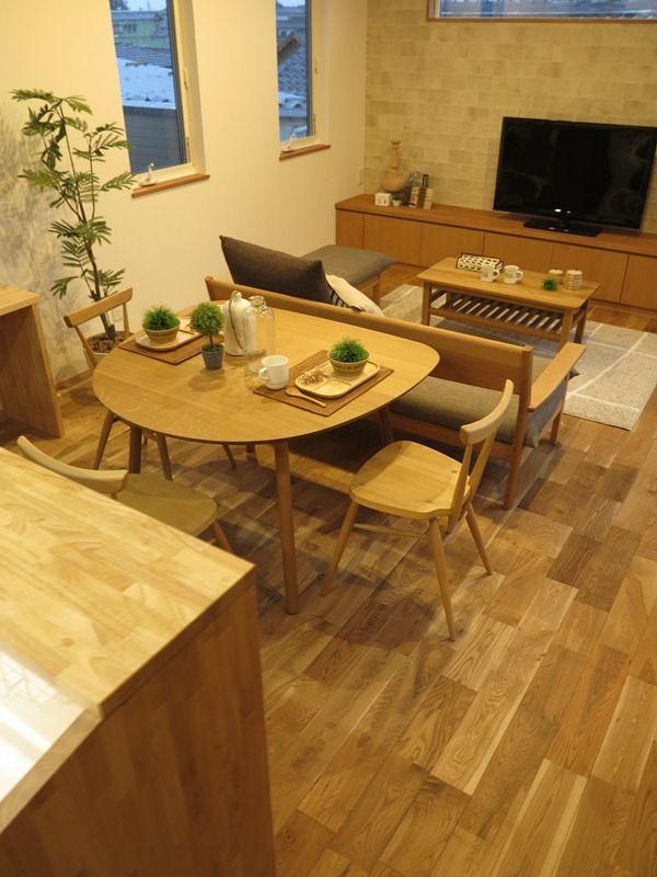 コンパクトなお部屋を広く使う家具の配置!カフェ風なイメージのナチュラルコーディネート | 家具なび ~きっと家具から始まる家づくり~