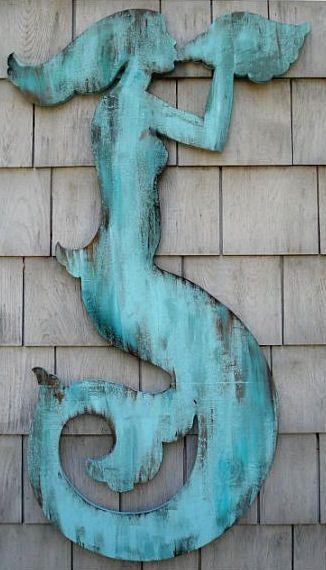 beach cottage mermaid