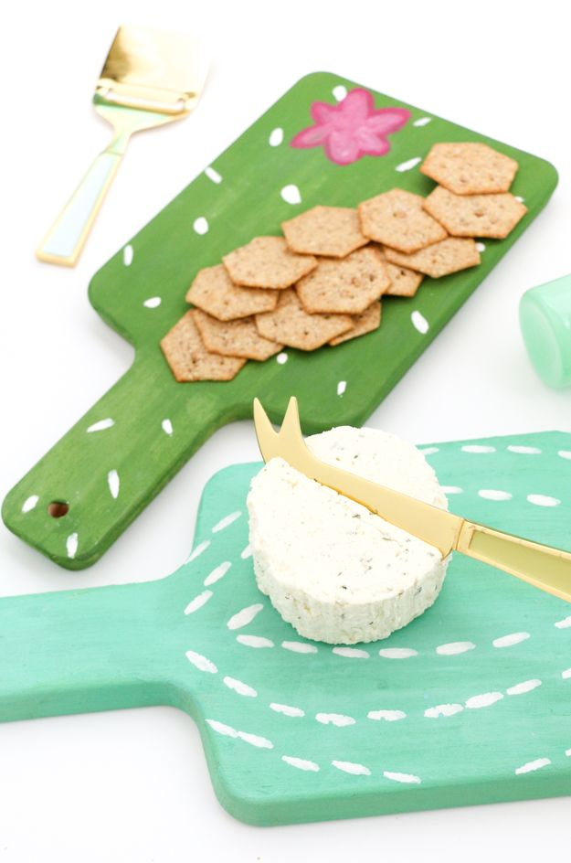 A Kailo Chic Life: DIY It - Mini Cactus Cheese Boards
