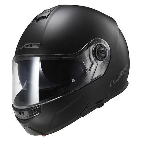 Νέο ανοιγόμενο κράνος LS2 Strobe FF325 σε χρώμα μαύρο ματ. Το Strobe προσφέρει τα καλύτερα χαρακτηριστικά ενός full-face κράνους μαζί με αυτά ενός jet, δίχως να στερείται της ασφάλειας. Σχεδιασμένο για sport ή touring μοτοσυκλέτες, το St...