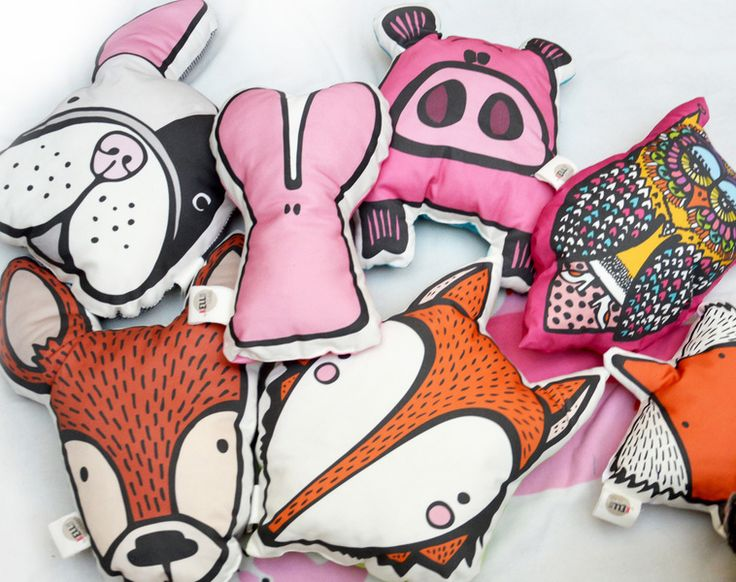 poduszki dekoracyjne na zamowienie w KellyBubble na DaWanda.com