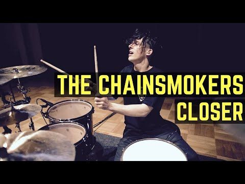The Chainsmokers - Closer (T-Mass Remix)  - Drum Cover - YouTube
