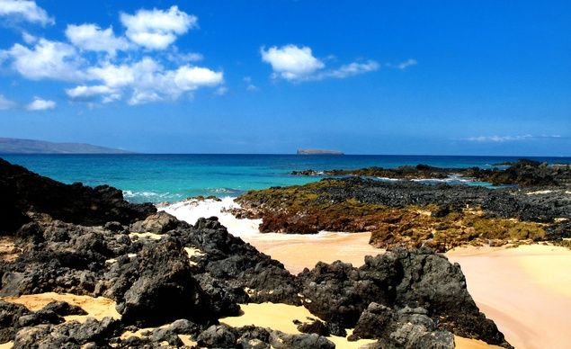 """""""Secret Cove is one of our favorite beaches on Maui. It is so picturesque and idyllic, and also a favorite location for weddings. This beach definitely will not disappoint."""" (From: 30 Beautiful Photos of the Hawaiian Islands)"""