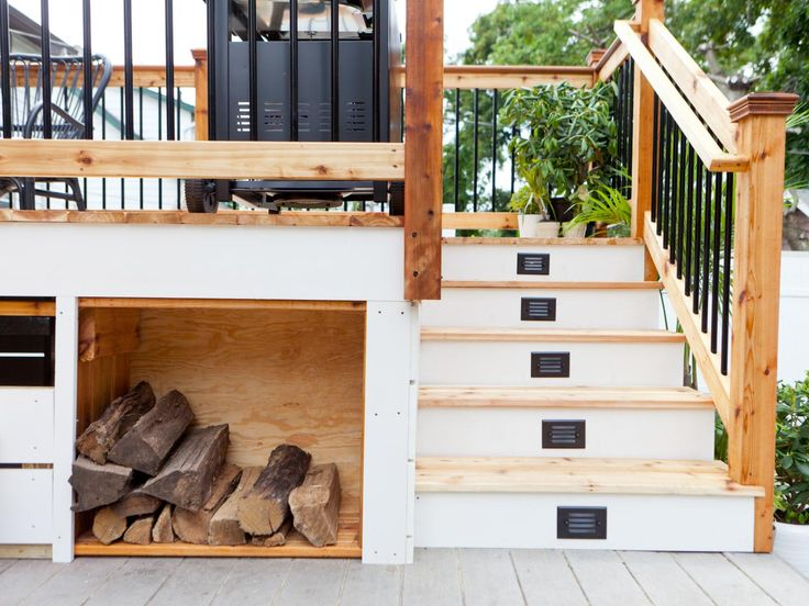 Small Yard Design Ideas | Landscaping Ideas and Hardscape Design | HGTV ~ want something similar for outside our back door