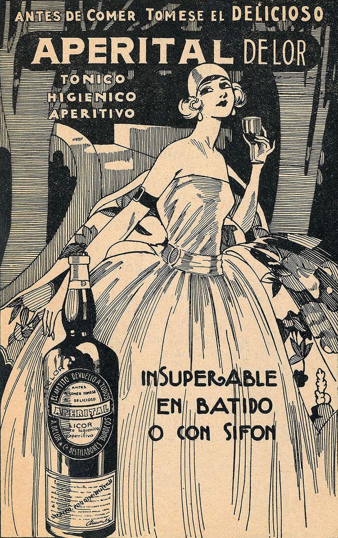 Aviso Tónico Aperitivo Aperital Año: 1930 Autor: desconocido Lugar: Biblioteca Nacional de Chile