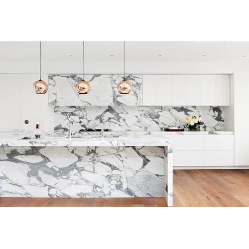 The latest in luxury kitchen and bathroom design is inspired by luminous white.