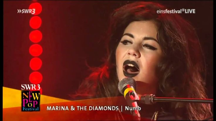 Marina & The Diamonds - Numb (Live @SWR3 New Pop Festival) (+playlist)