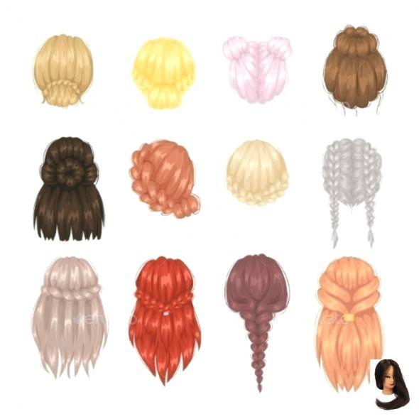 Hairstyle Hairstylesforscho Mens Hairstyles Back Vector View Woman Womenshairstylesmediumupdos Vector Woman Frisuren Haare Zeichnen Alltagliche Frisuren