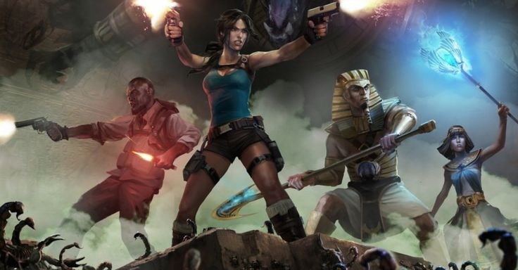 Lara Croft is making another departure into arcade territory, with download-only 'Lara Croft and the Temple of Osiris'.