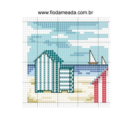 Cross Stitch World: pinguin