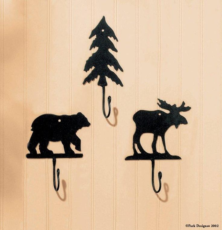 Iron Moose Wall Hook   Park Designs