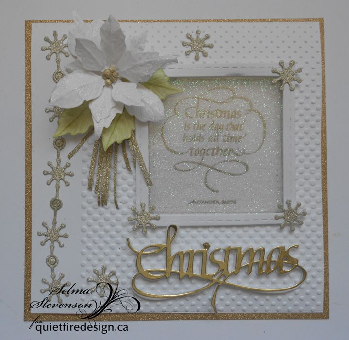 The  Quietfire Creations Design Team  is extending an invitation to everyone to join in our World Card-Making Day Blog Hop today, ...