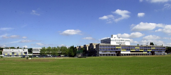 The University of Wolverhampton's Walsall Campus in the 1990s.