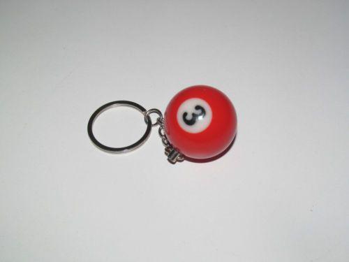 Porte-Cles-Moderne-Gadget-Keychain-Boule-de-Billard-15-Modele-au-choix