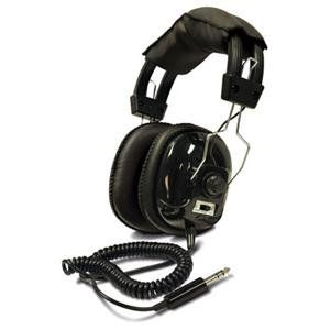 awesome Bounty Hunter Metal Detector Binaural Headphone Wired Connectivity Stereo Over-the-head