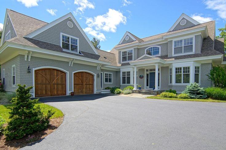 Front Elevation Cottage : Coastal cottage front elevation shingle style