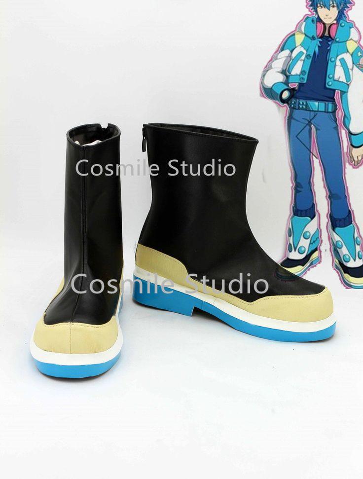Anime Dramatical Murder DMMD Seragaki Aoba Cosplay Shoes COS Boots | eBay