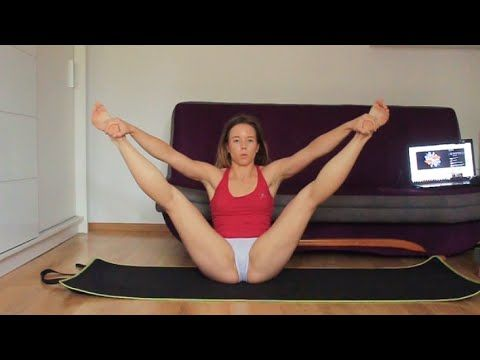 flexibility stretches for dancers cheerleaders