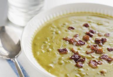 Pea Soup With Ham - Alexandra Grablewski/Photodisc/Getty Images