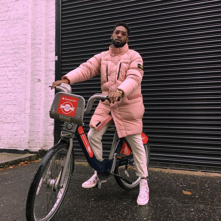 Tinie Tempah Wears Stone Island Long Down Jacket and Converse Chuck Taylor Election Day Sneakers | UpscaleHype