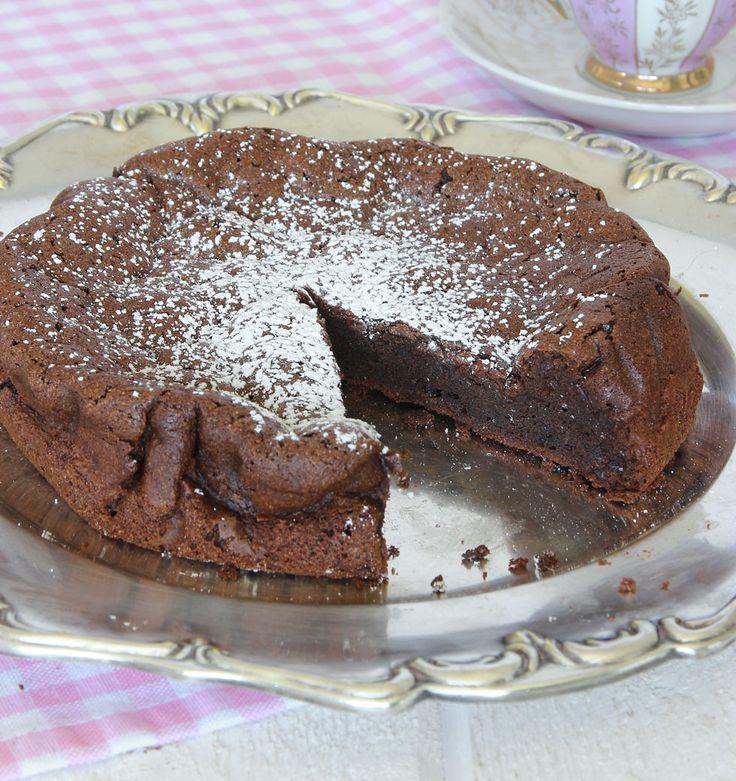 chokladtårta med 2 ingredienser