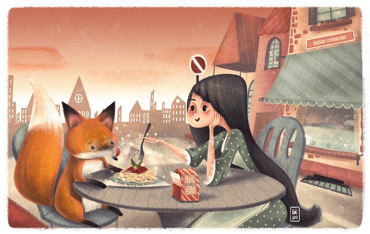 #Illustration calling meets KATYA LONGHI