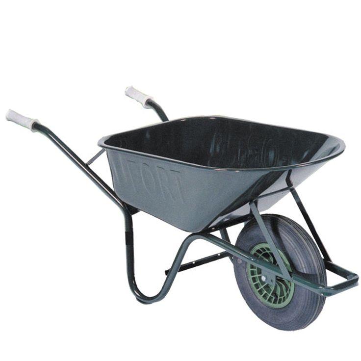 De kruiwagen is geschikt voor het alledaagse tuinklussen zoals, grond, bladeren en snoeiafval. Ook geschikt voor zware klussen waarbij u bouwmaterialen als stenen en tegels moet verplaatsen.