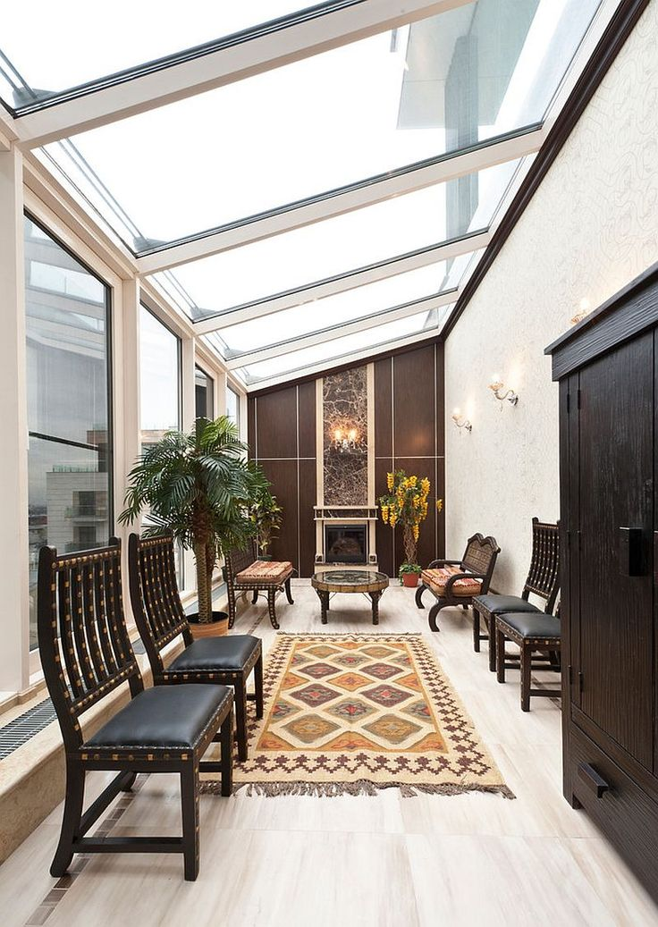 Oriental Inspiration Asian Style Sunrooms Bring Light Filled