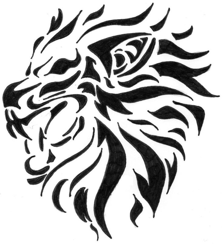 25 beautiful tribal lion tattoo ideas on pinterest lion for Aztec lion tattoo meaning