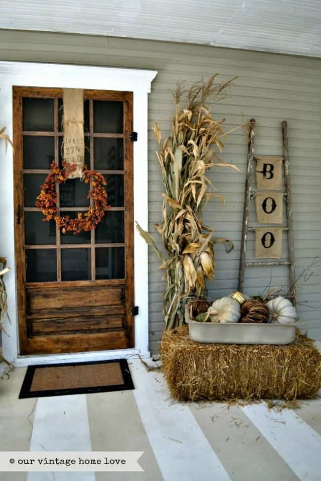 halloween porch ideas - How To Decorate For Halloween Outside
