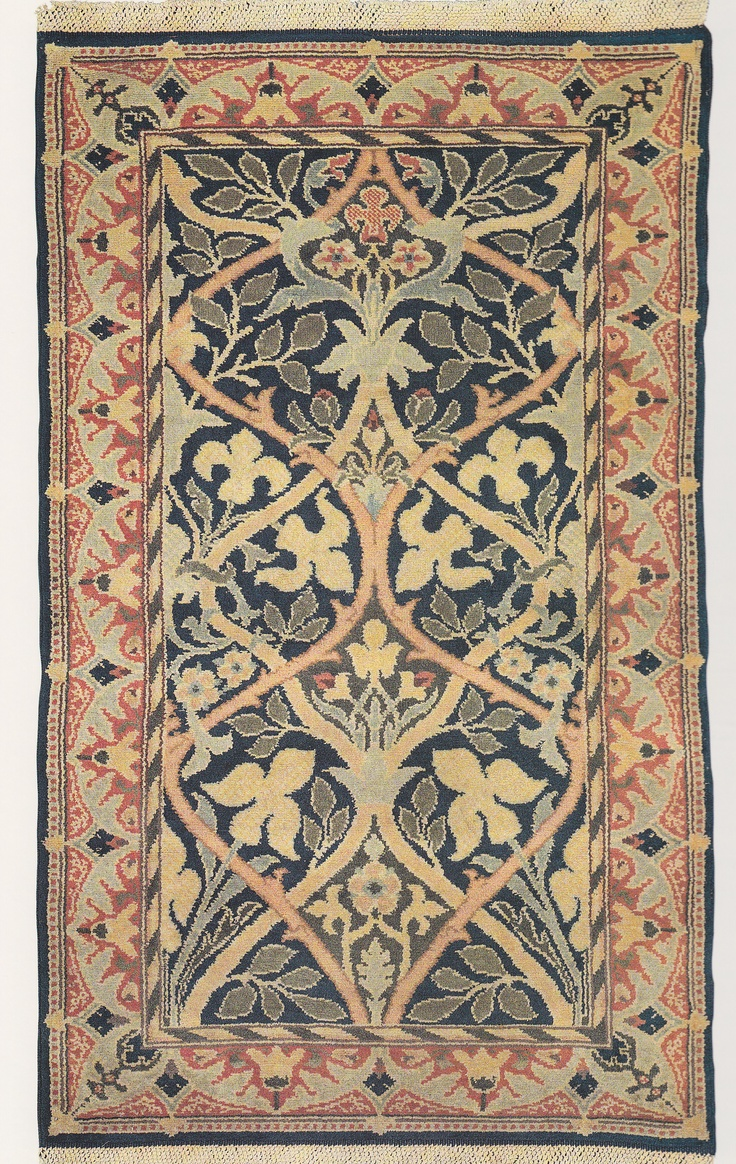 17 best images about craftsman rugs on pinterest for Arts and crafts carpet