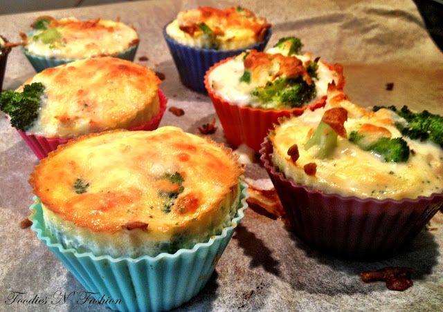 Foodies N' Fashion: Små kylling og broccolitærter til madpakken