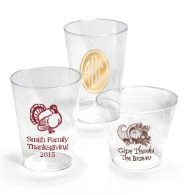 Personalized Clear Hard Plastic Cups