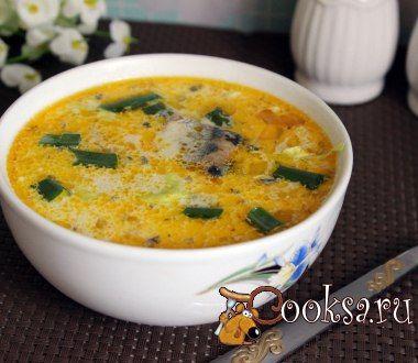 Быстрый суп из консервированной сайры со сметаной #суп #кулинария #обед #вкусно #рецепты #быстро Если вам надо приготовить к обеду первое блюдо, а времени катастрофически не хватает, то рецепт быстрого супа из консервированной сайры со сметаной именно для вас! Простой, но вкусный, а благодаря добавлению сметаны еще и хорошо насыщающий супчик.Понравится и взрослым, и детям.Его можно приготовить с любыми рыбными консервами с добавлением масла, но лучше всего из сайры или сардин. Сайра (рыбные…