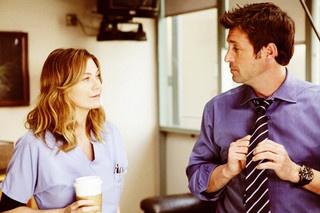 Ellen Pompeo as Dr. Meredith Grey (General surgery) & Dr. Patrick Dempsey Derek Shepherd (Neurosurgery) - Grey's Anatomy