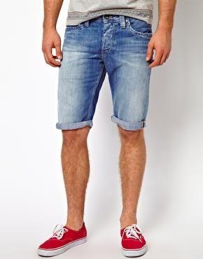 Как сделать мужские джинсовые шорты