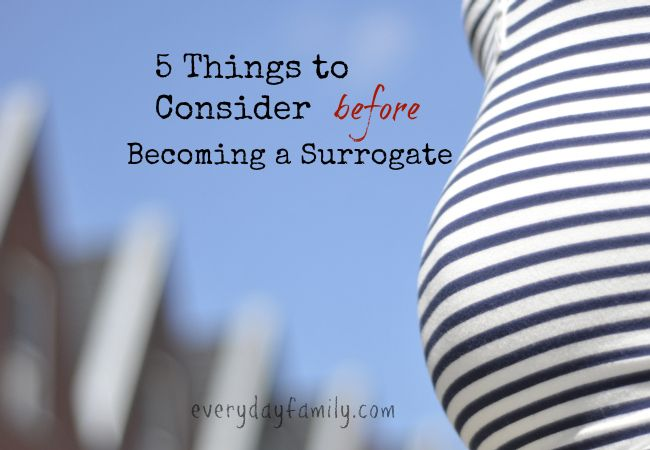 There are 5 things that I have learned in the past 5 years that I would like to share with anyone who is thinking of becoming a surrogate.