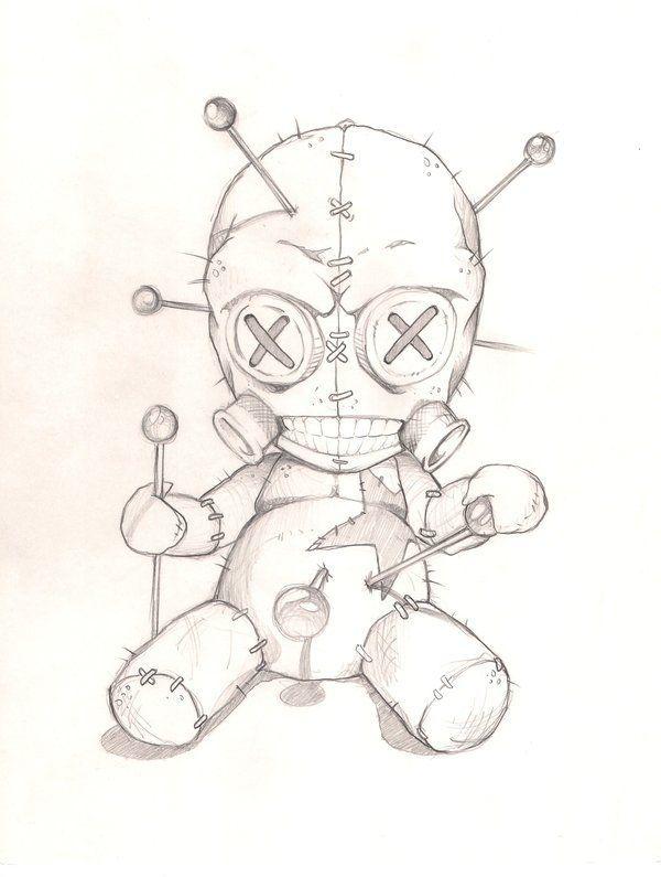 tatuajes de muñecos vudu - Buscar con Google
