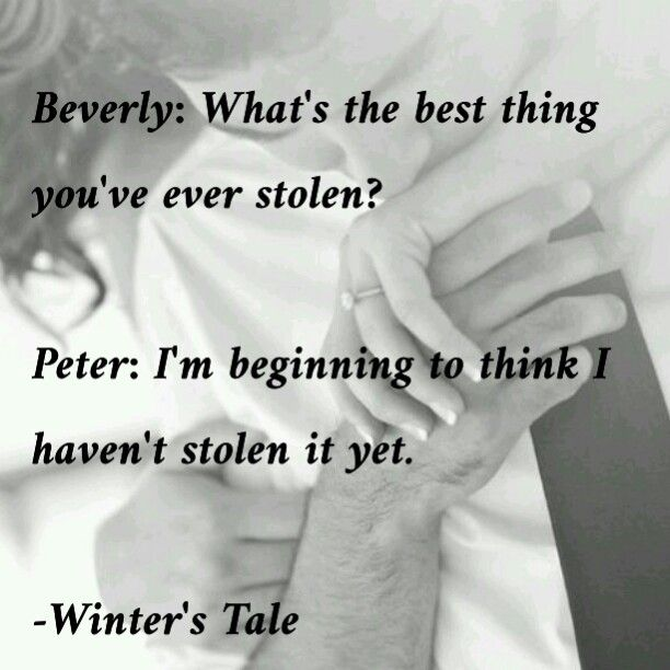 Winter's Tale~ I'm beginning to become obsessed with this movie<3