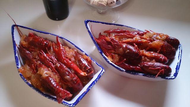Fácil y Sano : Cangrejos de rio con tomate y cebolla